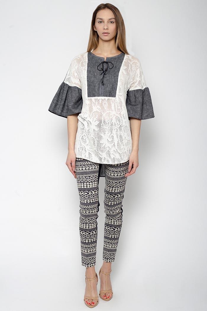 5ba639415 Украинский бренд одежды «Дольчедонна» также приобщился к мировому тренду –  этнические мотивы находят отклик в коллекции блуз известного дизайнера Елены  ...