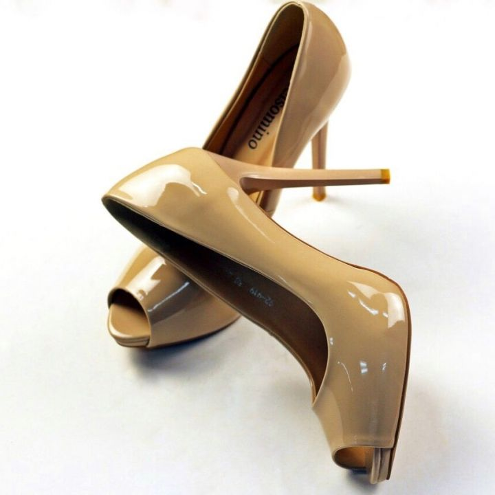7b71cebacacf Яркие туфли на каблуке – весенние тенденции обуви 2019!