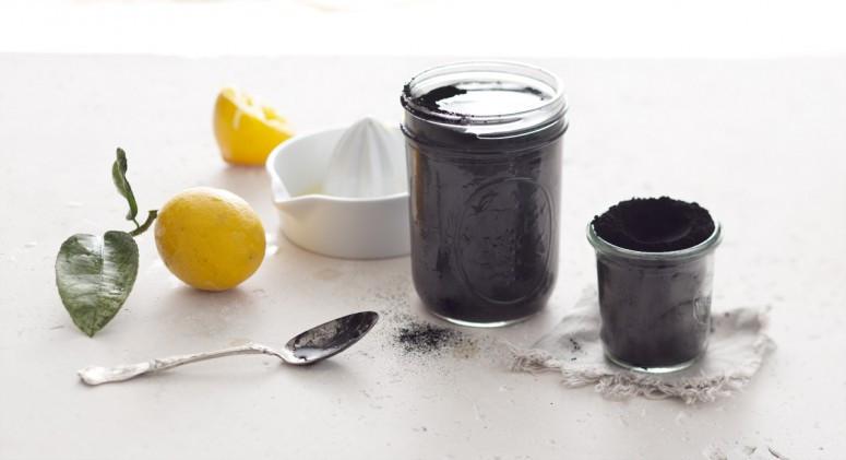 лимонад с активированным углем